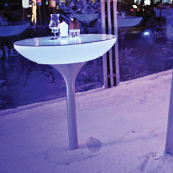 Lounge 105 LED Pro Outdoor | Tables hautes | Moree