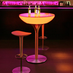 Lounge 105 LED Accu Outdoor | Tables hautes | Moree