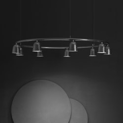 Convex Circle | Suspended lights | ZERO