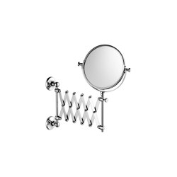 Edwardian Extendible Shaving/Make-Up Mirror, Wall Mounted | Bath mirrors | Czech & Speake