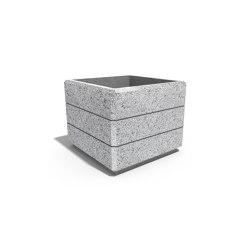 Square Concrete Planter 226 | Pots de fleurs | ETE
