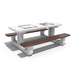 Concrete Play Table 221 | Mesas y bancos | ETE