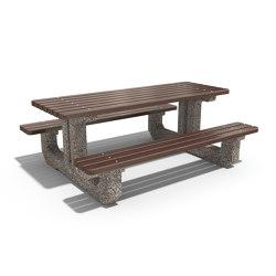 Concrete Picnic Table 219 | Mesas y bancos | ETE