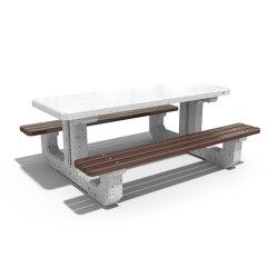 Concrete Picnic Table 220 | Mesas y bancos | ETE