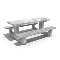 Concrete Picnic Table 222 | Mesas y bancos | ETE