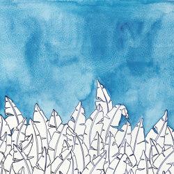 Blue forest | Revêtements muraux / papiers peint | WallPepper