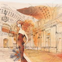 Palazzo Serbelloni in fashion style | Wall coverings / wallpapers | WallPepper