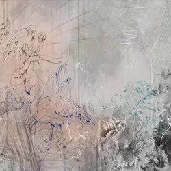 Tropical graffiti | Carta parati / tappezzeria | WallPepper
