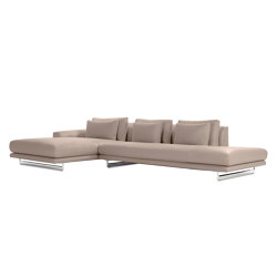 Lecco Open Sectional with Chaise | Canapés | Design Within Reach