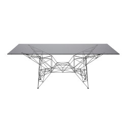 Pylon Dining Table Black | Dining tables | Tom Dixon