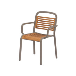 Marumi | Dining Armchair in Teak | Chairs | EGO Paris