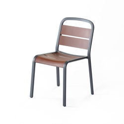 Marumi | Dining Chair in Aluminum | Chairs | EGO Paris
