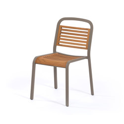 Marumi | Dining Chair in Teak | Chairs | EGO Paris