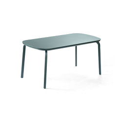 Marumi | Small Dining Table Aluminum | Dining tables | EGO Paris