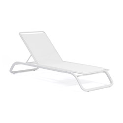 Marumi | Sunlounger without Arm and Tray | Sonnenliegen / Liegestühle | EGO Paris