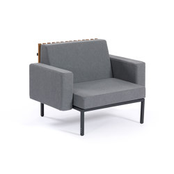 Sutra | Central Module and 2 Armrests | Armchairs | EGO Paris