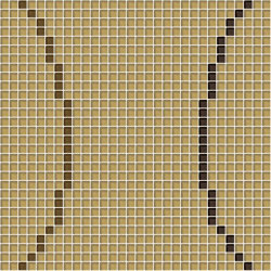 Loop Light Brown | Mosaicos de vidrio | Mosaico+