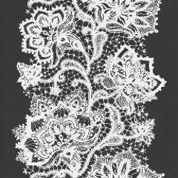 Crochet Black | Glass mosaics | Mosaico+