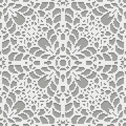 Doily Silver | Mosaïques verre | Mosaico+