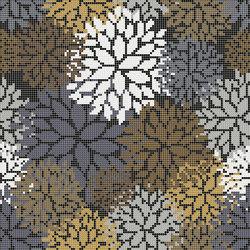 Florilege Green | Glass mosaics | Mosaico+