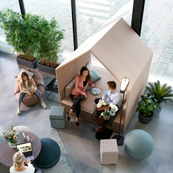 The Hut Lounge  + Double Bench Cover | Office Pods | Götessons