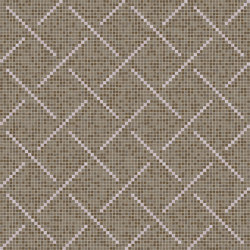 Weaving Pattern Tapue | Glass mosaics | Mosaico+