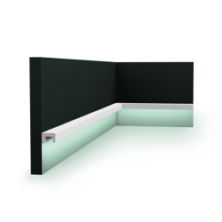 Coving Lighting - CX190 U-PROFILE | Baseboards | Orac Decor®