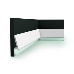 Coving Lighting - SX179 DIAGONAL | Baseboards | Orac Decor®