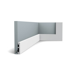 Skirting - DX157-2300 SQUARE | Baseboards | Orac Decor®