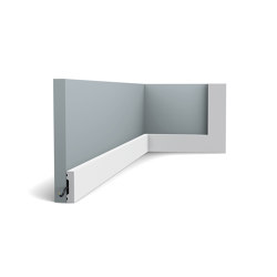 Skirting - DX162-2300 SQUARE | Baseboards | Orac Decor®