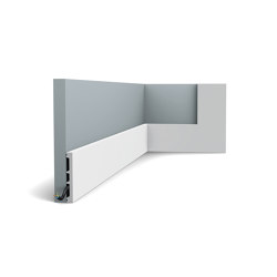 Skirting - DX163-2300 SQUARE | Baseboards | Orac Decor®