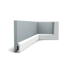 Skirting - DX182-2300 CASCADE | Baseboards | Orac Decor®