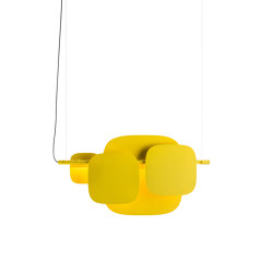 Huilu Pendant L1195 | Suspended lights | Blond Belysning