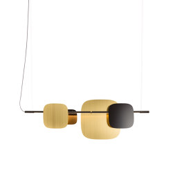 Huilu Pendant L2000 | Suspended lights | Blond Belysning