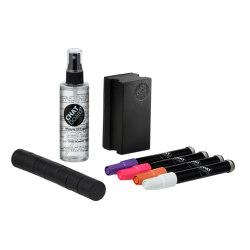 CHAT BOARD® Woody Starter Set Black Neon (2) | Pens | CHAT BOARD®