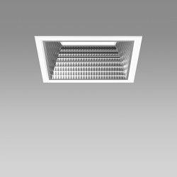 Echo Square 190 | Lampade soffitto incasso | Regent Lighting