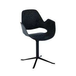 FALK | Dining armchair - Black Column Leg | Stühle | HOUE