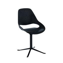 FALK | Dining chair - Black Column Leg | Sillas | HOUE
