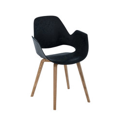 FALK | Dining armchair - Oiled oak legs | Chairs | HOUE