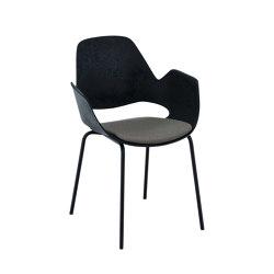 FALK   Dining armchair - Metal legs, Warm Clay seat   Sillas   HOUE
