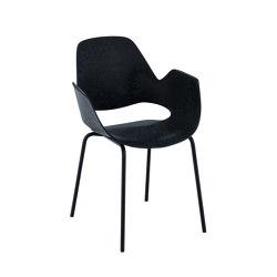 FALK | Dining armchair - Metal legs | Stühle | HOUE
