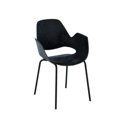 FALK | Dining armchair - Metal legs | Chairs | HOUE