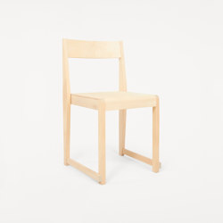 Chair 01 | Natural Wood Frame Natural Wood Seat | Chairs | Frama