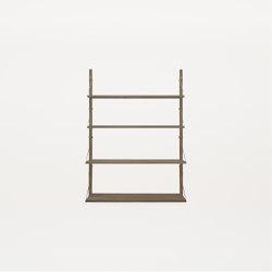 Shelf Library |  H1148 Dark Oiled | Étagères | Frama