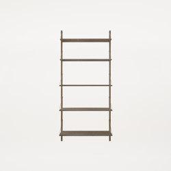Shelf Library   H1852 Dark Oiled   Estantería   Frama
