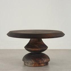 Roma Turned Wood Cocktail Table | Side tables | Pfeifer Studio