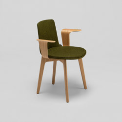 Lottus Wood chair - with wooden arms | Stühle | ENEA