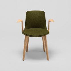 Chaise Lottus Wood avec accoudoirs | Chaises | ENEA