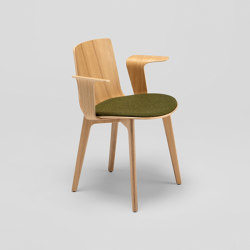 Lottus Wood chair - with wooden arms | Chairs | ENEA