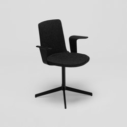 Lottus Confident chair - with wooden arms | Sedie | ENEA